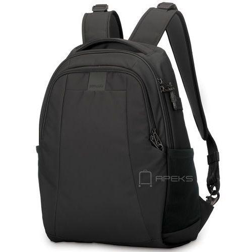 "metrosafe ls350 plecak miejski na laptop 13"" / black - black marki Pacsafe"
