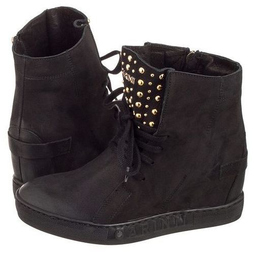 Sneakersy czarne b4392 (ci286-a), Carinii, 36-40