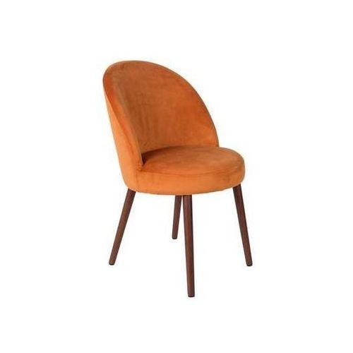 Dutchbone:: Krzesło BARBARA pomarańczowe, kolor pomarańczowy