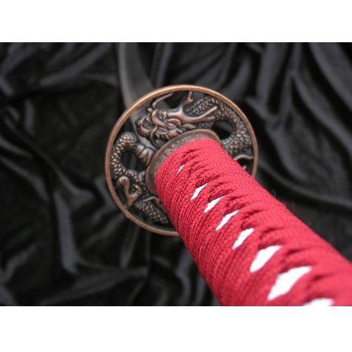 Miecz samurajski katana czerwony smok hit 4km80-405rd marki Płatnerze hiszpańscy