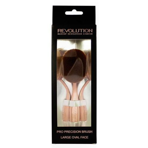Makeup revolution  pro precision brush pędzel do policzków duży (large oval face)