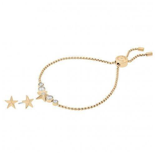 Biżuteria Michael Kors - Bransoleta MKJ7040710 + Kolczyki, MKJ7040710
