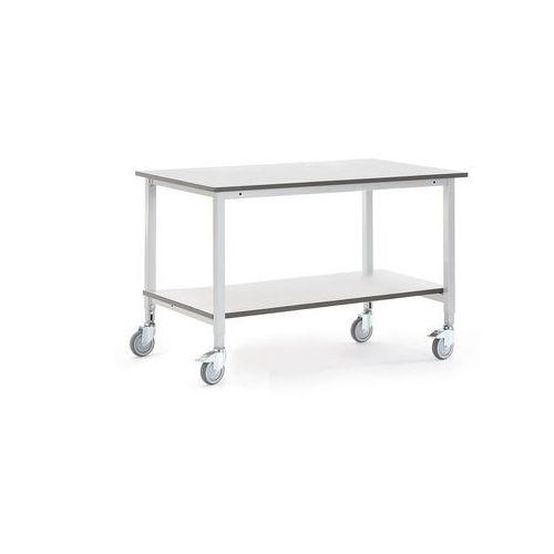 Aj produkty Mobilny stół roboczy motion, z półką dolną, 1200x800 mm, szary