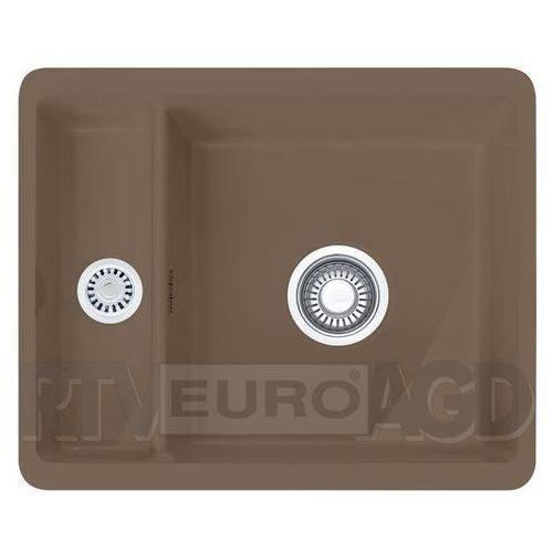 Zlewozmywak ceramiczny FRANKE Kubus KBK 160 cappuccino Fraceram (126.0380.012) (7612981621179)