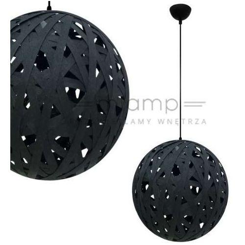 LAMPA wisząca FRIDA 31-51134 Candellux kulista OPRAWA zwis kula ball czarna - produkt z kategorii- Lampy sufitowe