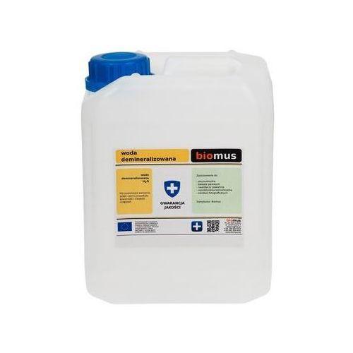 Biomus spółka z ograniczoną odpowiedzialnością Woda demineralizowana 5l biomus (5902409416930)