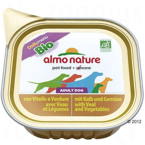 Almo nature  daily menu bio dog kurczak z warzywami - szalka 32x100g (8001154120301)