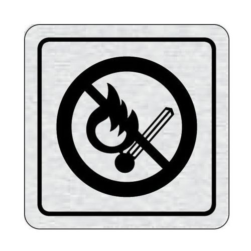 B2b partner Tabliczka na drzwi -zakaz wejścia z otwartym ogniem. Najniższe ceny, najlepsze promocje w sklepach, opinie.
