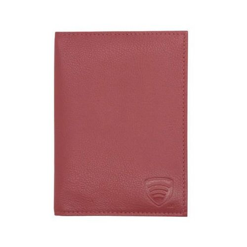 Koruma® ✅ skórzana okładka na paszport biometryczny (czerwony) - czerwony