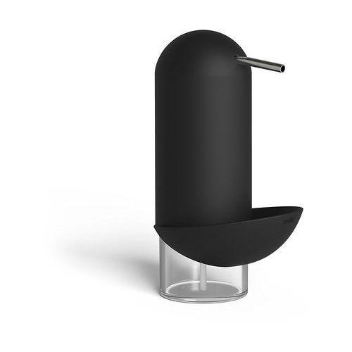 - dozownik mydła/płynu z pojemnikiem na myjkę czarny marki Umbra