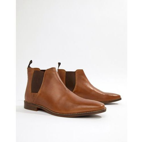 Red tape tapton chelsea boots in tan - tan