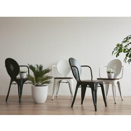 Krzesło do jadalni białe LORANE
