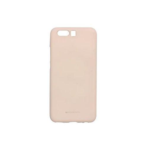 Mercury goospery Huawei p10 - etui na telefon soft feeling - piaskowy róż