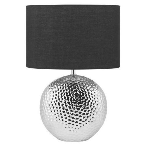 Beliani Lampa stołowa srebrna 51 cm nasva