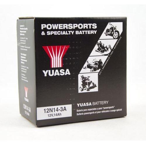 Akumulator 12n14 3a yb14l a2 14 7ah 125a marki Yuasa