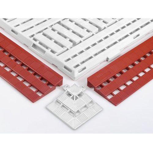 Coba plastics Listwa krawędziowa, dł. x szer. 125x600 mm, opak. 10 szt., czerwony. umożliwiają