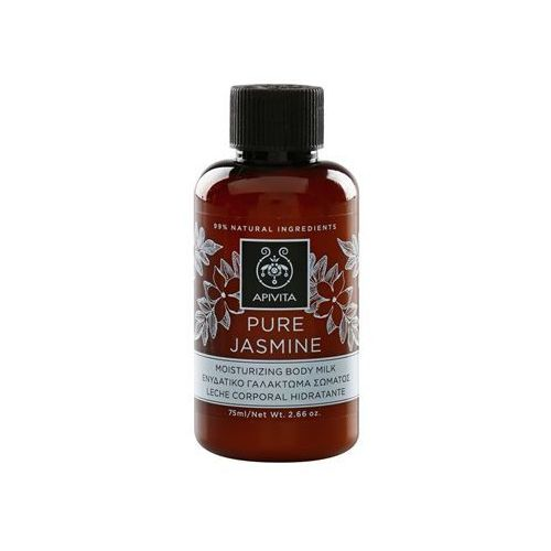 pure jasmine nawilżające mleczko do ciała (dermatologically tested) 75 ml marki Apivita