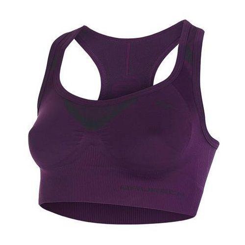 Crop top fitness cr10070  (kolor: lazurowy, rozmiar : rozmiar s) marki Brubeck
