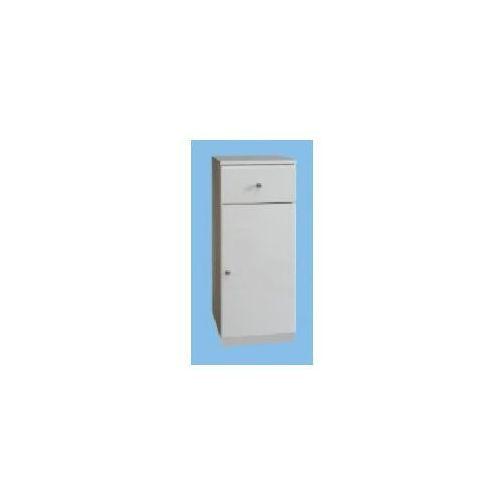 aneta/milena szafka stojąca b32 1d1s, biała 032-b-03202 marki Deftrans