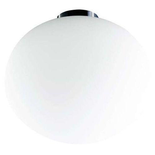 Plafon LAMPA sufitowa PALLA 24 Orlicki Design szklana OPRAWA kula ball biała, PALLA 24