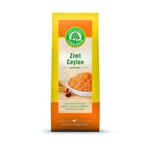 Cynamon cejloński mielony bio 50 g - lebensbaum marki Lebensbaum (przyprawy, herbaty, kawy)