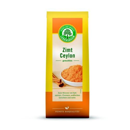 OKAZJA - Lebensbaum (przyprawy, herbaty, kawy) Cynamon cejloński mielony bio 50 g - lebensbaum