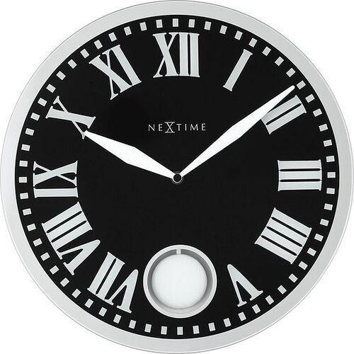 Zegar ścienny z wahadłem Romana Black, 8161