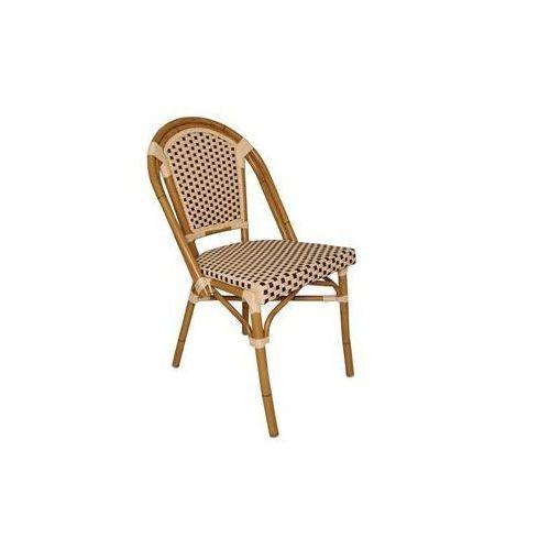 Krzesło z imitacji wikliny | różne kolory | 440x560x(h)890mm | 4szt. marki Bolero