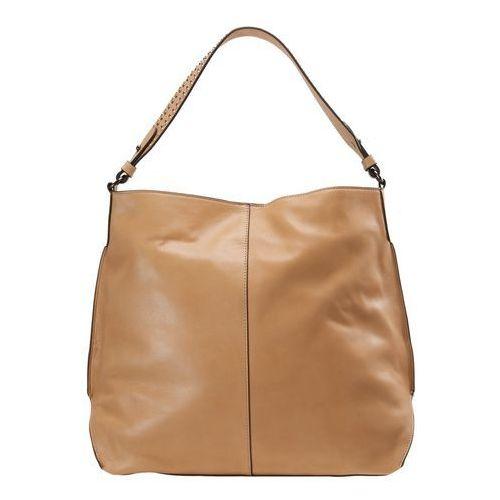 Mint Velvet HARLEY STUDDED SHOULDER BAG Torebka light tan, 12977