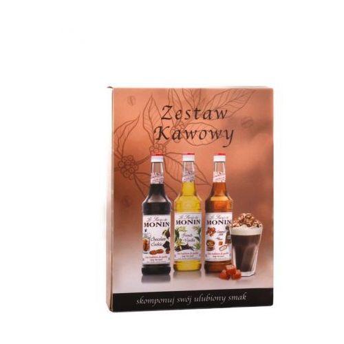 Monin Zestaw kawowy syropów 3x50ml (5902768948011)