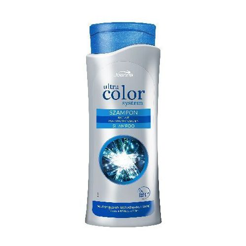 Joanna  ultra color system szampon do włosów - blond rozjaśnione siwe - platynowy odcień 400ml (5901018014124)