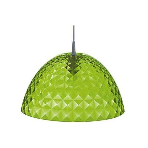 Stella - lampa wisząca zielony przezroczysty m marki Koziol