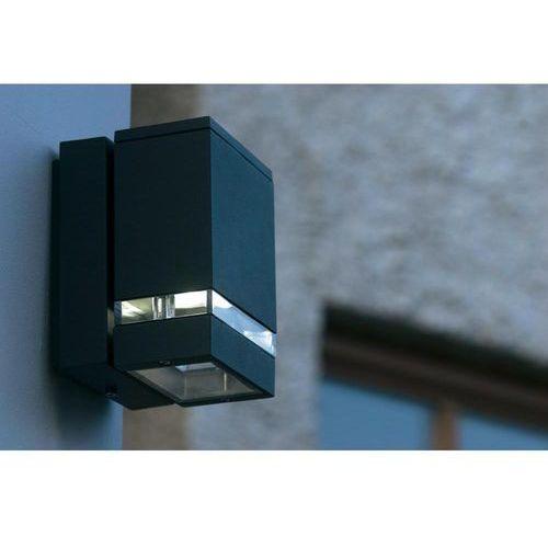 Lutec focus zewnętrzny kinkiet antracytowy, 3-punktowe marki Oświetlenie lutec by eco light