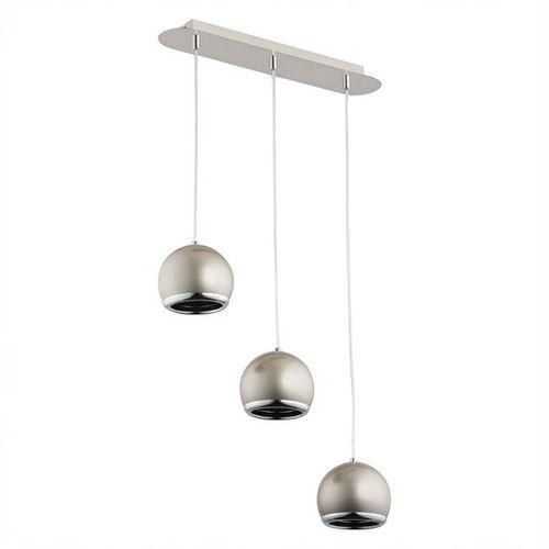 Lemir Ibra lampa wisząca 3-punktowa satyna o2383 w3 sat