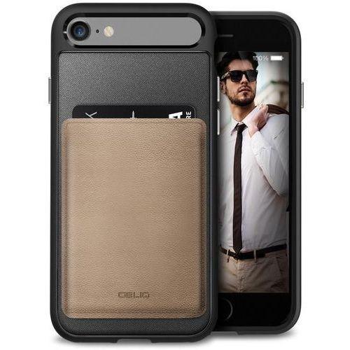 Obliq Flex Wallet - Etui z kieszonką na kartę iPhone 7 (Mud Gray), OBIP7-FXW01