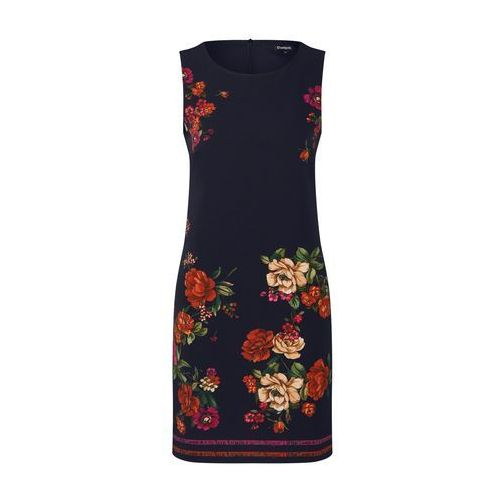 Desigual sukienka damska Vest Lency 36 czarna, kolor czarny