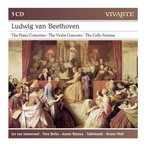 Sony music entertainment Beethoven: the piano concertos / the violin concerto / the cello sonatas