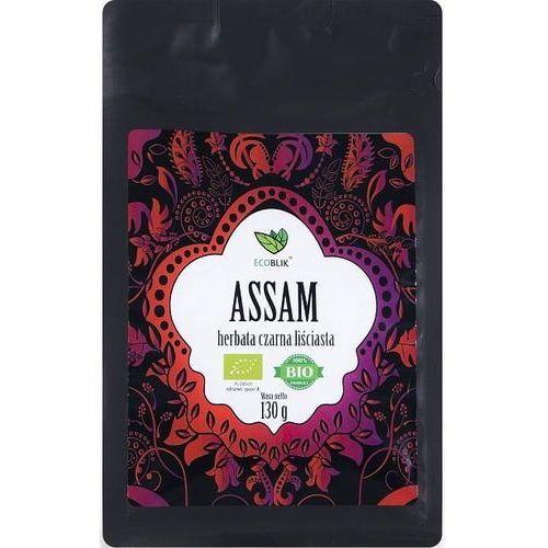 Ecoblik Herbata czarna liściasta assam bio 130 g -
