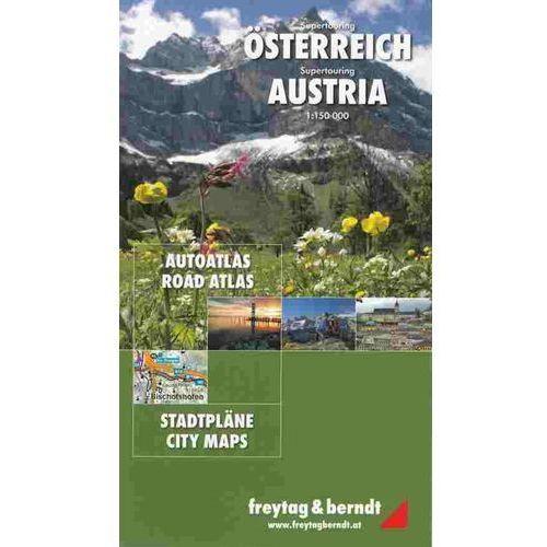 Austria. Atlas 1:150 000, Freytagberndt. Tanie oferty ze sklepów i opinie.
