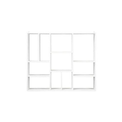 Woood półka ścienna xl z 11 podziałami 350530