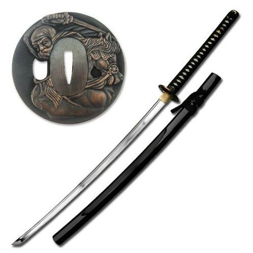Katana ręcznie kuty miecz samurajski uesugi kenshin lu-010 marki Usa