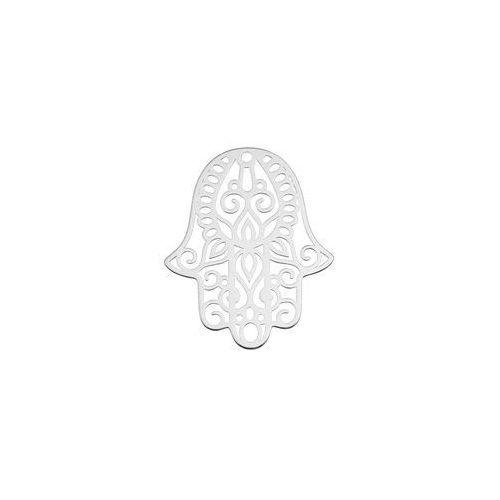 Duża zawieszka - ażurowa Ręka Fatimy / Hamsa, srebro próba 925 BIG BL 9, BIG BL 9