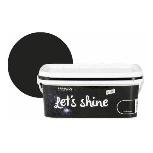 Farba dekoracyjna Primacol Let's Shine Los Angeles czarna 2 l, kolor czarny