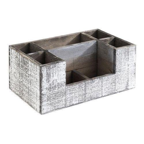 Aps Skrzynka drewniana vintage 22,5x15,5x11,5 cm