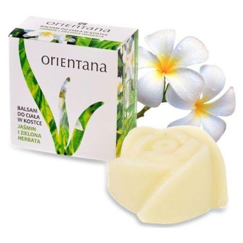 Orientana balsam do ciała w kostce jaśmin i zielona herbata 100% naturalny 60g