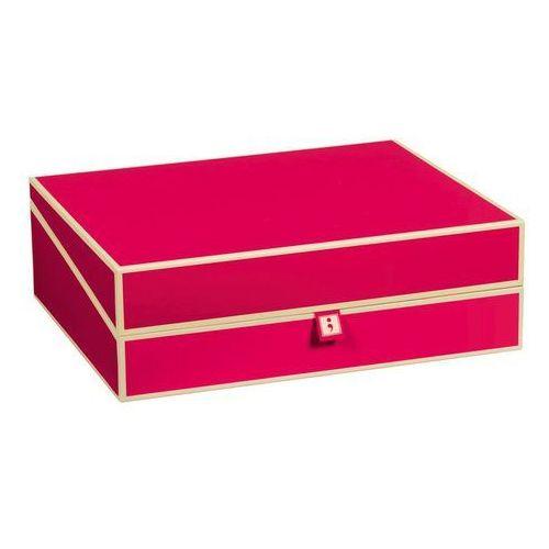 Pudełko na dokumenty Die Kante różowe, 352574