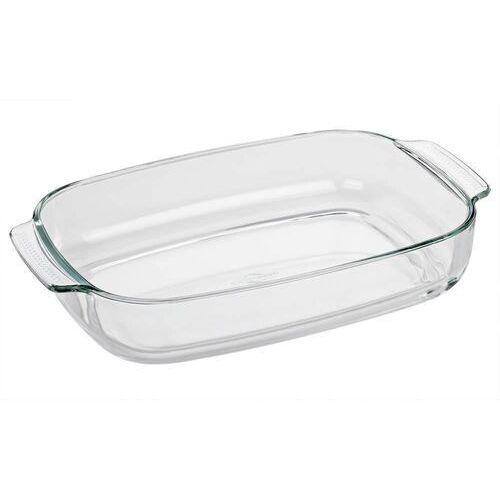 - elsass - naczynie żaroodporne - szkło borokrzemowe - 38×25,5 cm marki Kuchenprofi