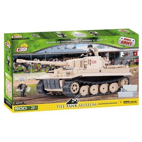 Cobi Cobi, Small Army, czołg Tiger PzKpfw VI Ausf. E, klocki, 500 elementów Cobi, Small Army, czołg Tiger PzKpfw VI Ausf. E, klocki, 500 el. Cobi, Small Army, czołg Tiger PzKpfw VI Ausf. E, klocki, 500 el., klocki do zabawy