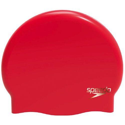 speedo Plain Moulded Czepek pływacki Kobiety czerwony 2018 Czepki pływackie (5053744315393)