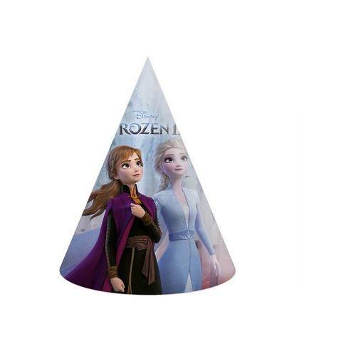 Czapeczki urodzinowe Frozen 2 - Kraina Lodu 2 - 6 szt., CZPAP/1341-5
